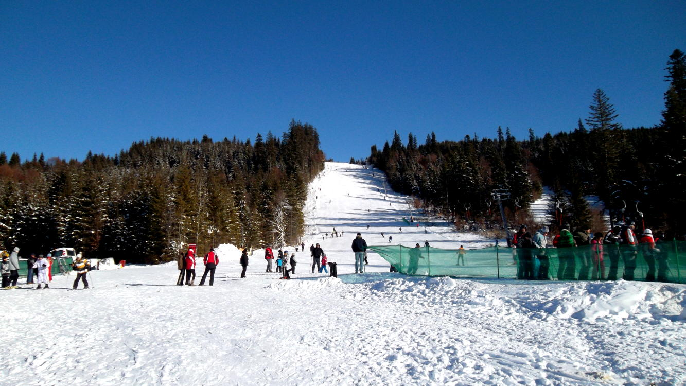 Borsec ski slopes