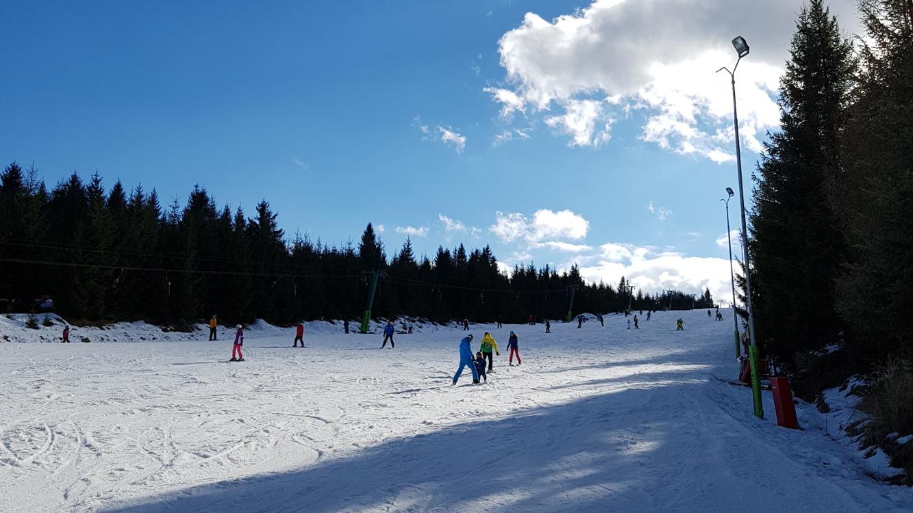 Toplita ski slopes